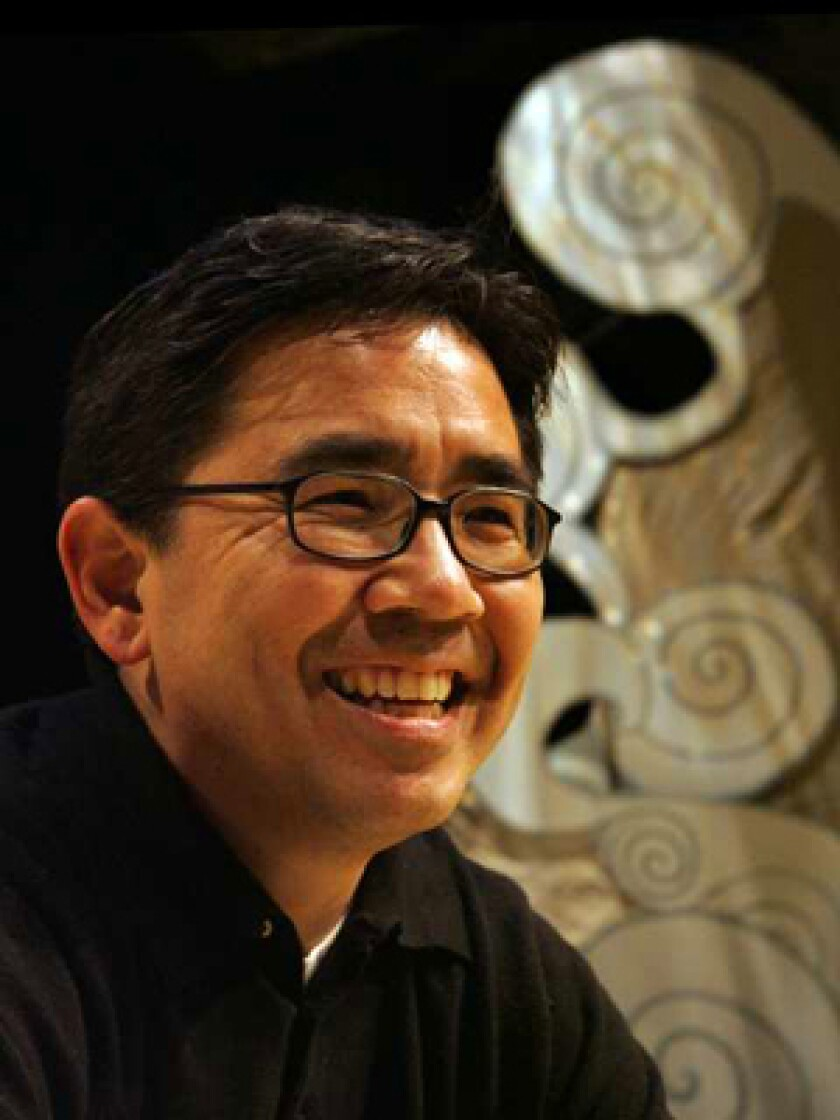 A NEW EXPERIENCE: Paul Kikuchi has written six screenplays — all unproduced, so far. But he landed a spot in East West's David Henry Hwang Writers Institute and came up with his first play. It opens Wednesday.