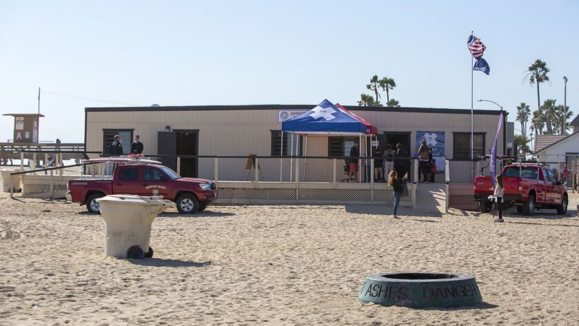 Newport Beach will put off plans for a new Junior Lifeguard program's headquarters, which is currently housed in a trailer near the Balboa Pier.