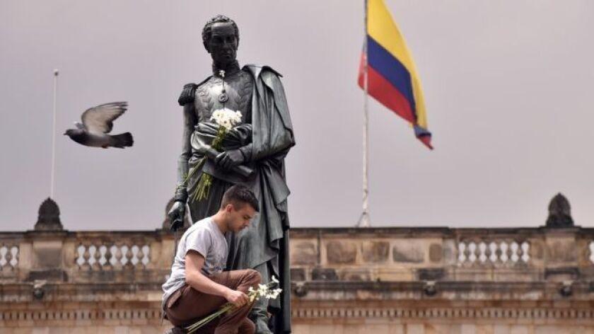 Las cuatro naciones que alguna vez formaron la alianza soñada por Simón Bolívar después de conseguir la independencia de España tienen hoy, entre todas, un producto interno bruto de US$952.000 millones.