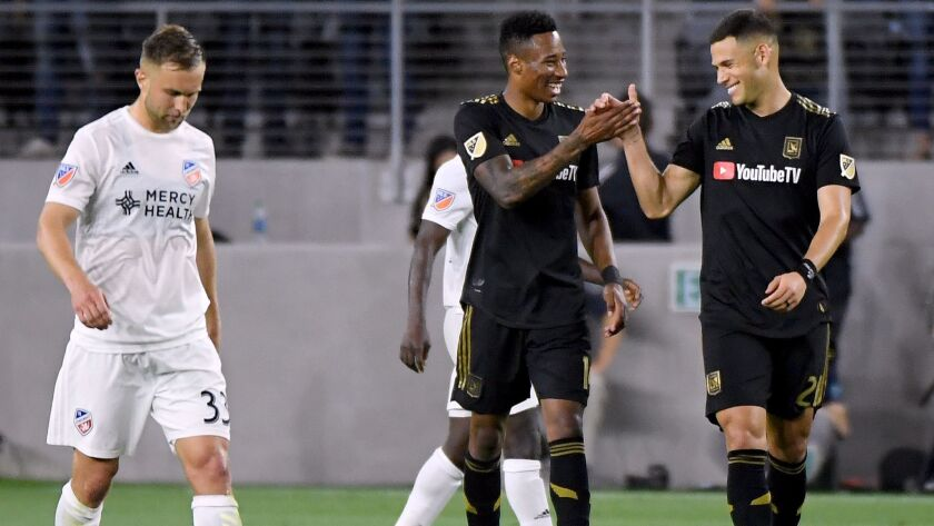 finest selection 15df7 e7a89 LAFC looks to continue hot streak while Galaxy would just ...