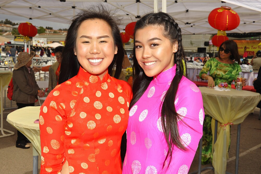 San Diego celebrated at the opening ceremony of the Lunar New Year Festival at SDCCU Stadium on Saturday, Feb. 10, 2018.