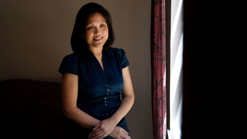 CERRITOS, CA: May 19, 2013 - California Labor Commissioner Julie Su is photographed at her home in C