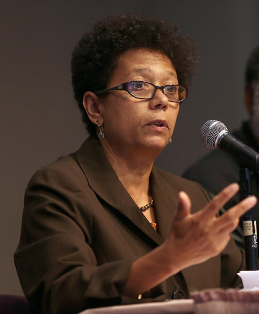 Dori J. Maynard, shown in 2013, was president of the Robert C. Maynard Institute for Journalism Education, which trains minority journalists and promotes accurate representation of minorities in the news media.