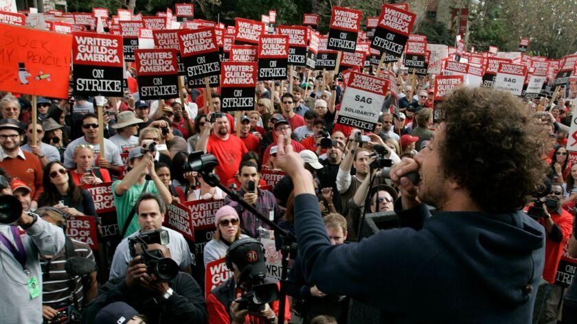 Boster, Mark –– – 130426.FI.1109.strike.MJB–(Century City)–Rage Against The Machine Singer/activist