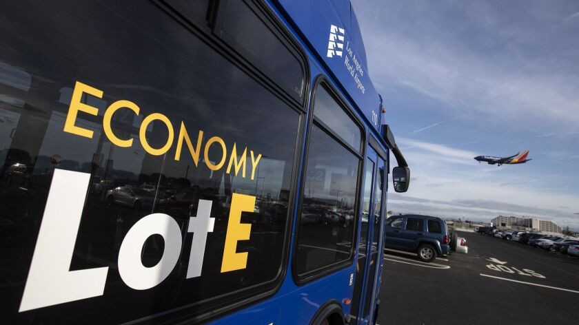 A report card for Lot E, LAX's new economy parking spot: a