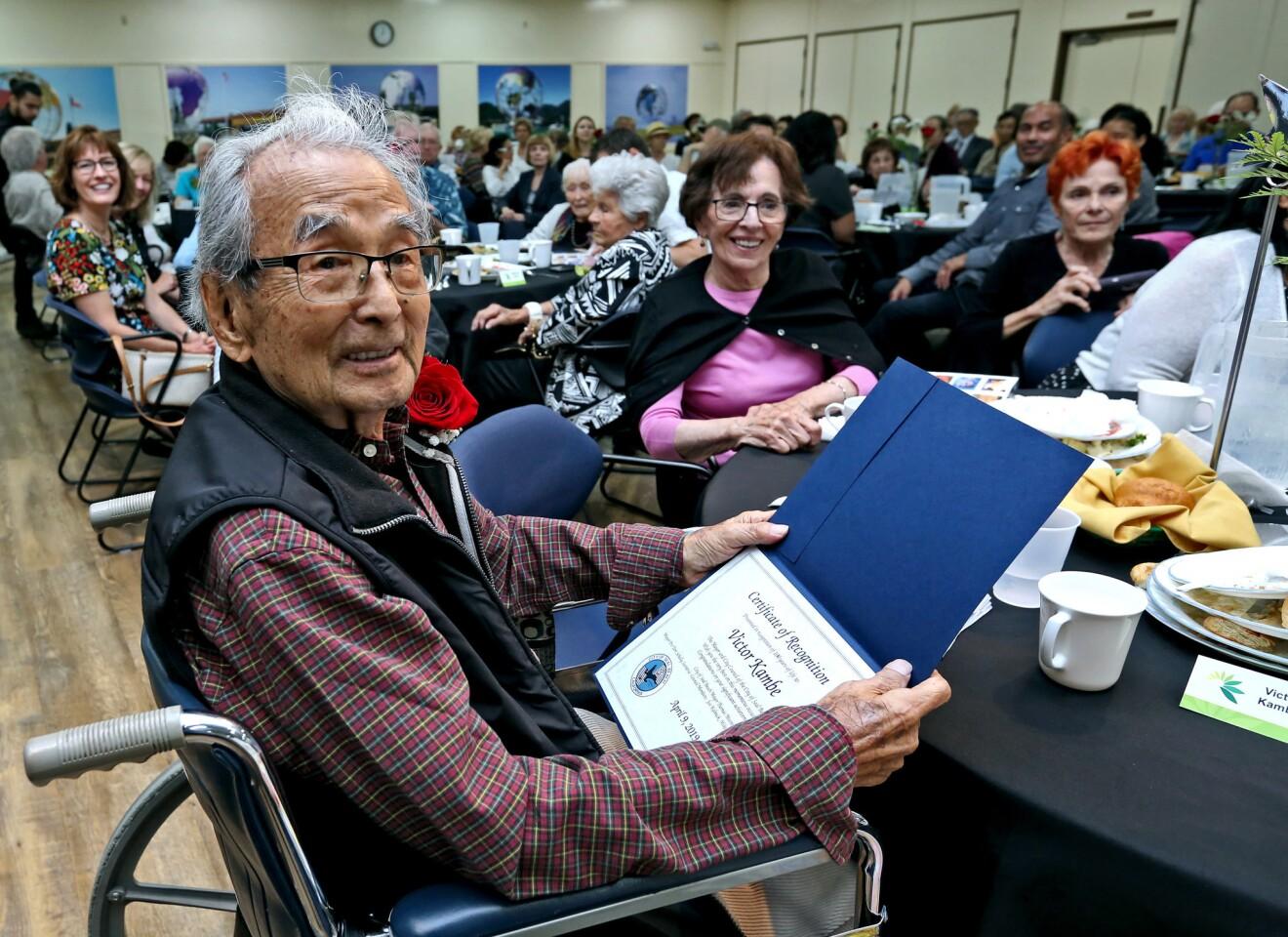 Photo Gallery: Centenarians celebrated at Leisure World, Seal Beach