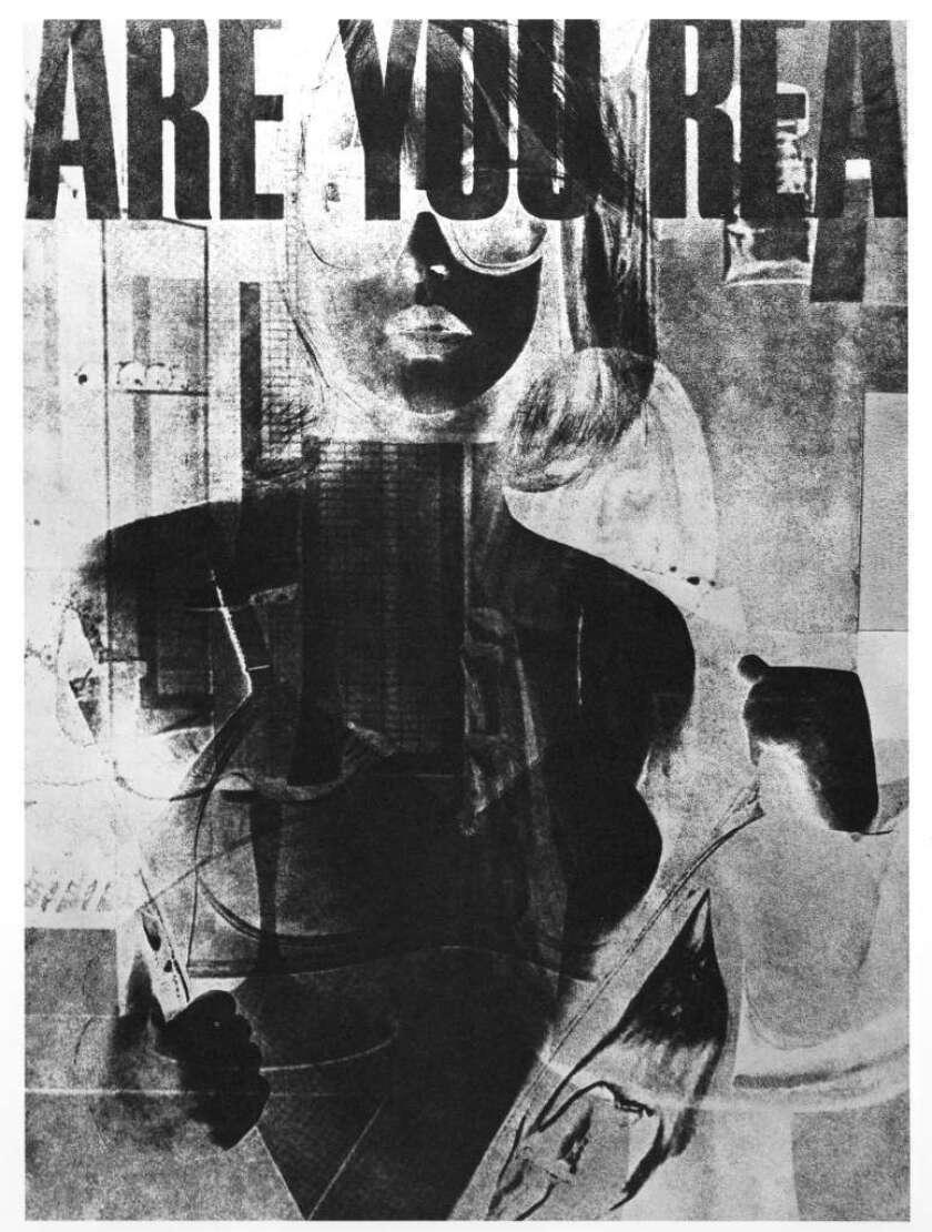 "Robert Heinecken, ""Are You Re? #1,"" 1964-68."
