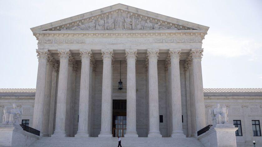 US Supreme Court rulings on a citizenship question, Washington, USA - 24 Jun 2019