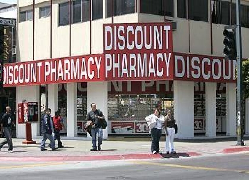 The pharmacy business in Tijuana is still booming, despite crackdowns by the state to weed out illegitimate operators.