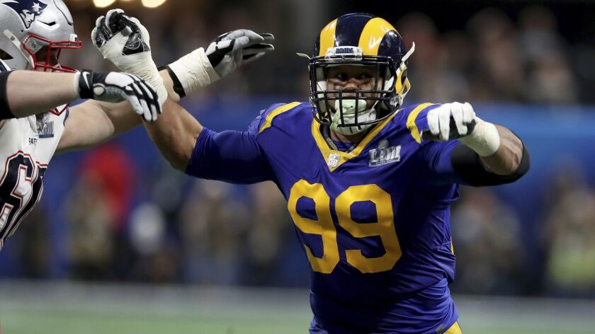 Aaron Donald is a unanimous pick for the NFL's 2010s all-decade team