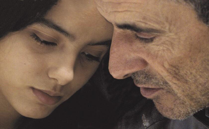 Habib Boufares, right, and Hafsia Herzi star in the French movie The Secret of the Grain. Habib Bouf