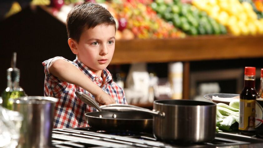 """A young cook competes to be named the country's best young home chef in the """"Junior Edition"""" of Fox reality series """"MasterChef."""""""