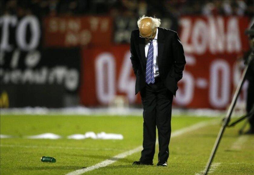 El director técnico de Boca Juniors, Carlos Bianchi. EFE/Archivo