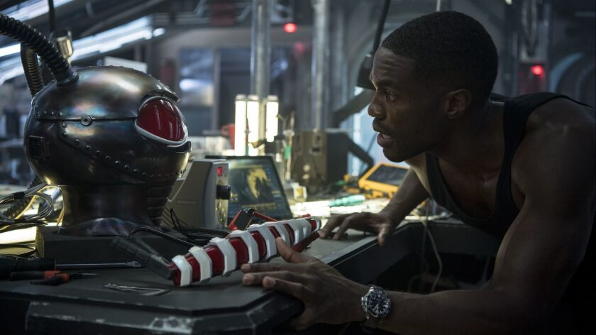 YAHYA ABDUL-MATEEN II as Black Manta in Warner Bros. Pictures? action adventure ?AQUAMAN,? a Warner