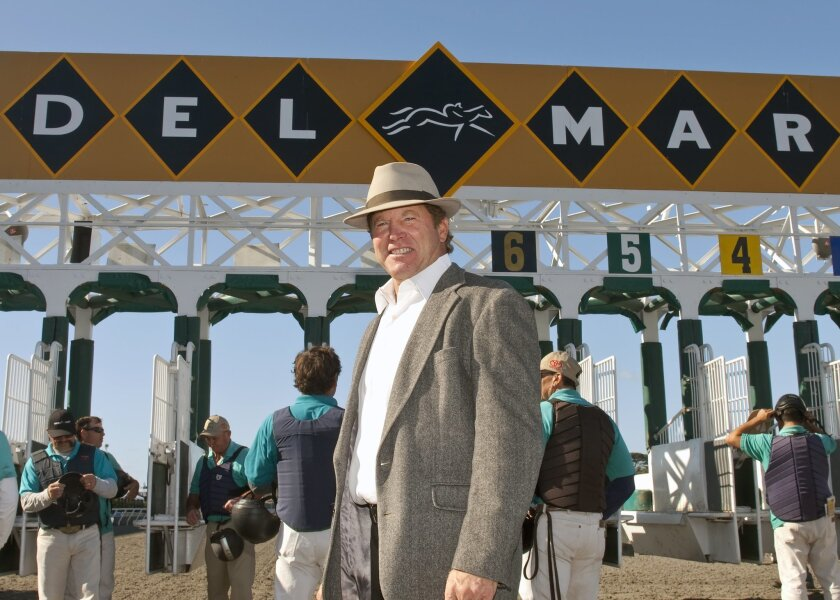 Jay Slender returns after health issues to run Del Mar's starting gate for the Bing Crosby Season