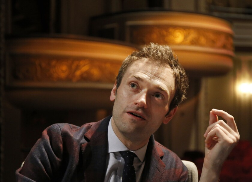 """The new voice of """"A Prairie Home Companion,"""" Chris Thile, will step in for Garrison Keillor in October."""