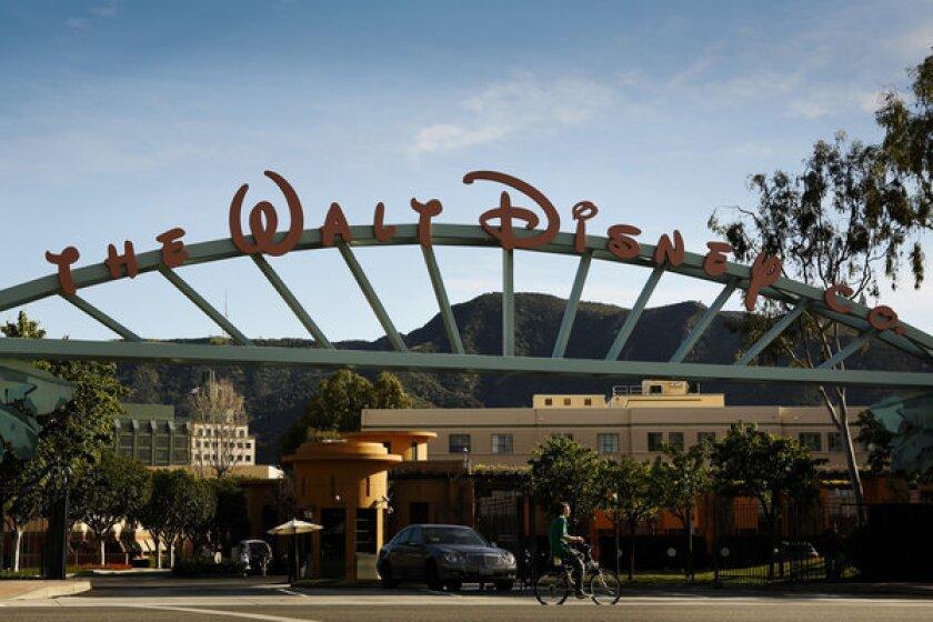 The Walt Disney Co. studios in Burbank.