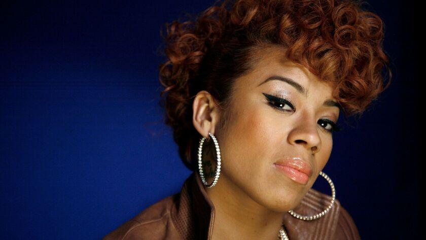 Recording artist Keyshia Cole