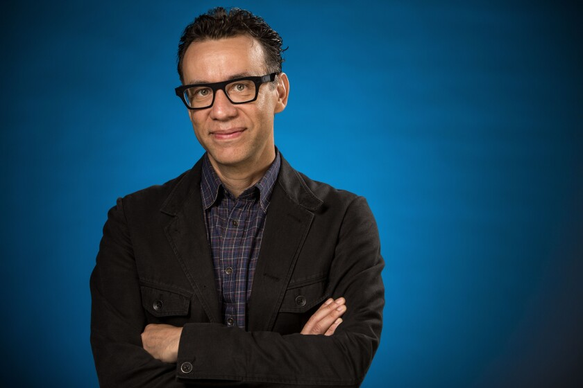Comedian Fred Armisen will host the Peabody ceremony on May 31.