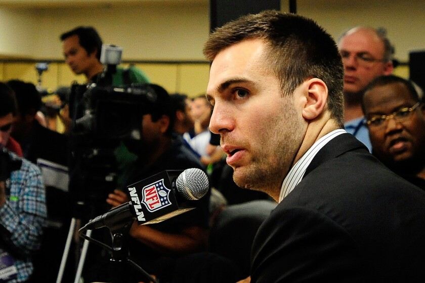 Joe Flacco will throw inside for a change at the Superdome