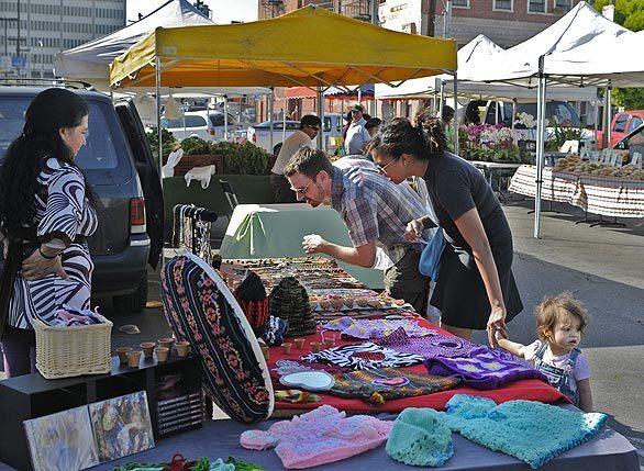 Fashion shopping, farmers market, handmade, accessories, Echo Park