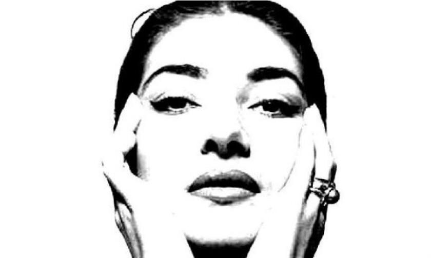 Soprano Maria Callas.