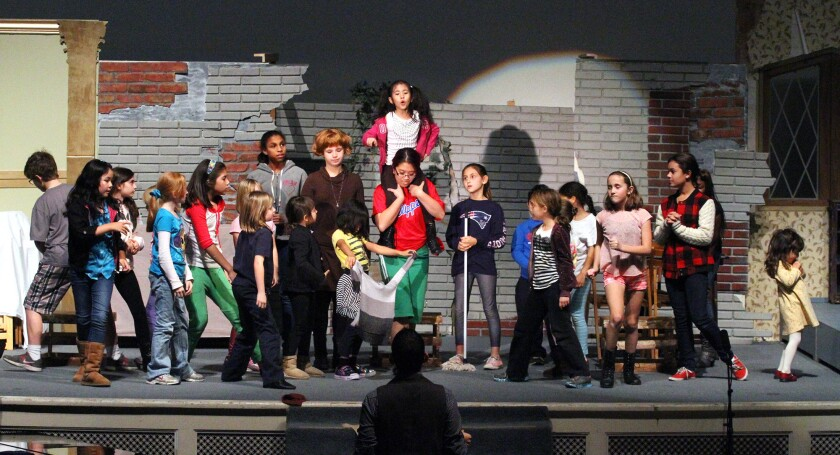 Hard-knock debut: Burbank Community Theater's first show, 'Annie' ready to hit the stage