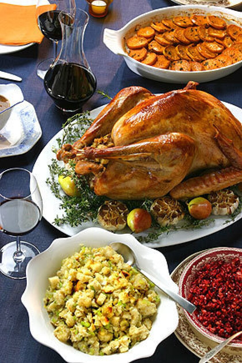 Traditions can play a big part in a family's Thanksgiving dinner.