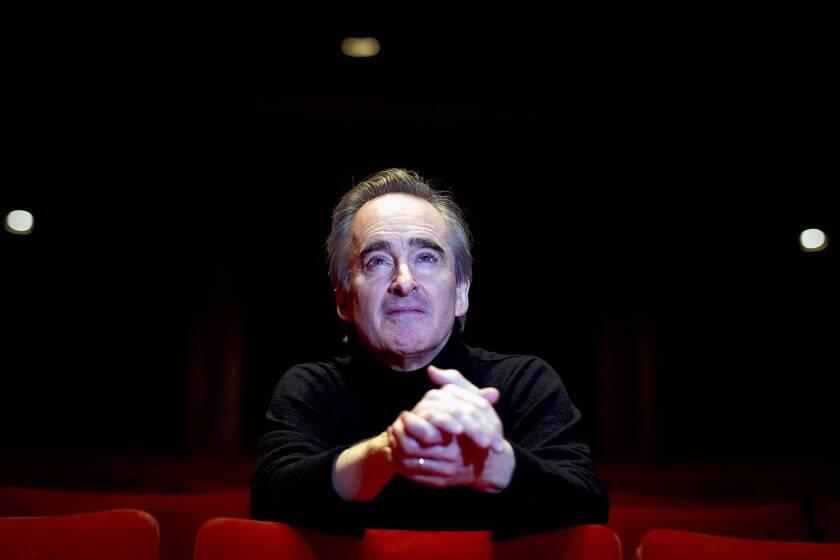 "Conductor James Conlon, music director of the L.A. Opera, is preparing for ""Falstaff."""