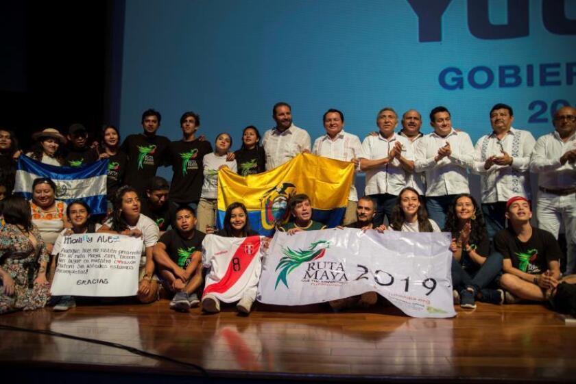 La II Ruta Maya 2019 finaliza en México con la Declaratoria de Mérida