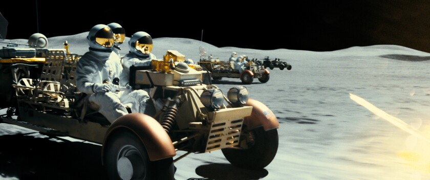 """Lunar rovers in """"Ad Astra."""""""