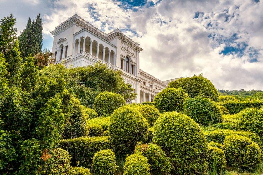 Livadia Palace near city of Yalta, Crimea