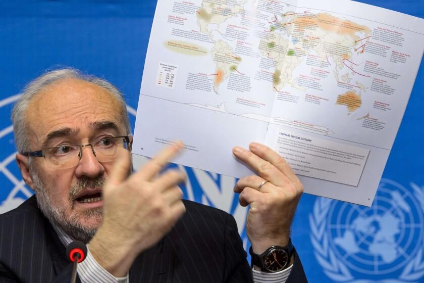 World Meterological Organization Secretary General Michel Jarraud