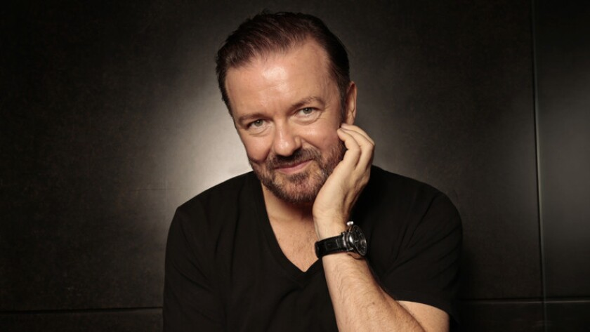 """""""I'm doing these jokes not for the people in the room,"""" Ricky Gervais said. """"I'm doing it for the 200 million people watching around the world"""""""