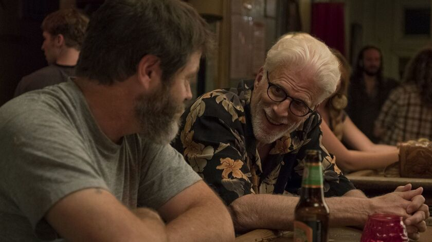 "Nick Offerman and Ted Danson appear in ""Hearts Beat Loud"" movie"