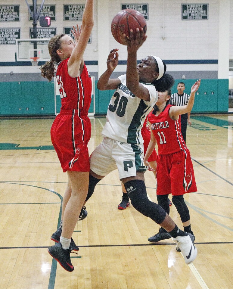 Photo Gallery: Providence vs. Mayflield in Prep League girls' basketball