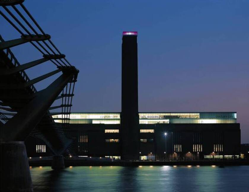 Tate Modern in London thrives in a defunct power station.
