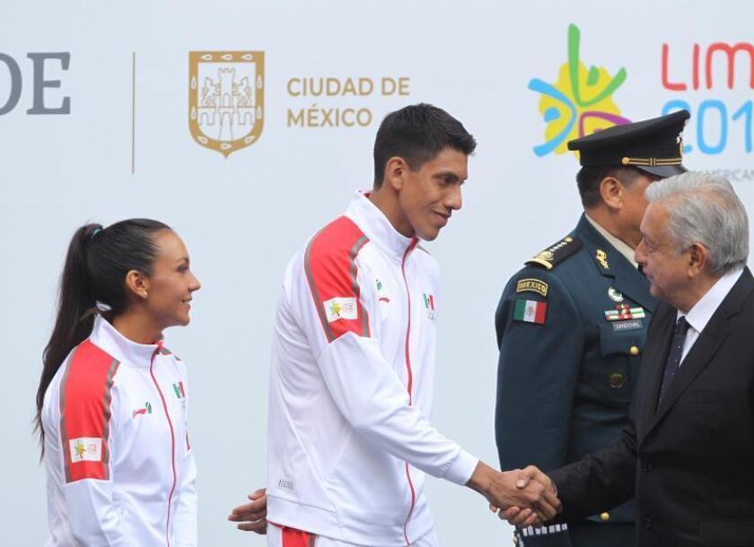 """México obtendrá """"buenos resultados"""" en Lima 2019, confía López Obrador"""