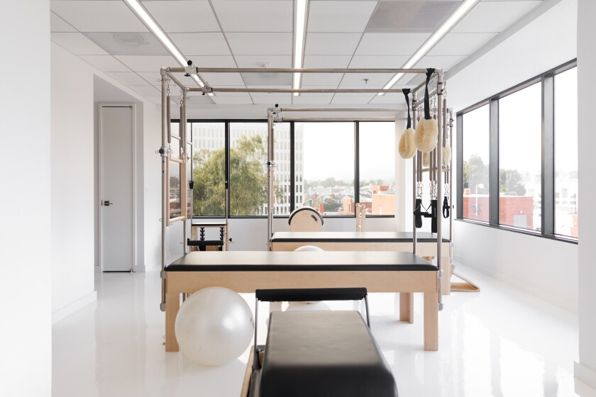 Pilates instructor Erika Bloom recently expanded her Los Angeles studio to include bodywork offerings.