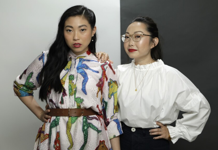 """LOS ANGELES, CA -- JUNE 26, 2019: Awkwafina stars in """"The Farewell"""" based on director Lulu Wang's ow"""