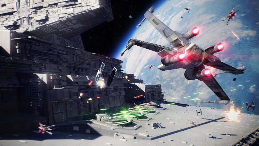 Game Review:Star Wars Battlefront II