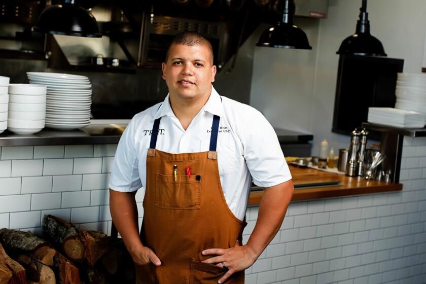 TRUST Executive chef Brad Wise. (Eduardo Contreras/Union-Tribune)