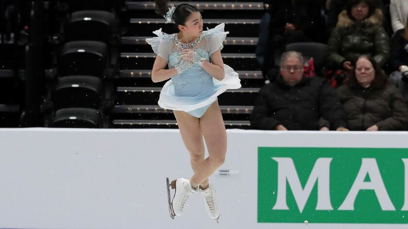Four Continents Figure Skating Championships in Anaheim, California, USA - 07 Feb 2019