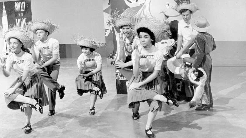 Dancing the calypso on 'The Mickey Mouse Club'