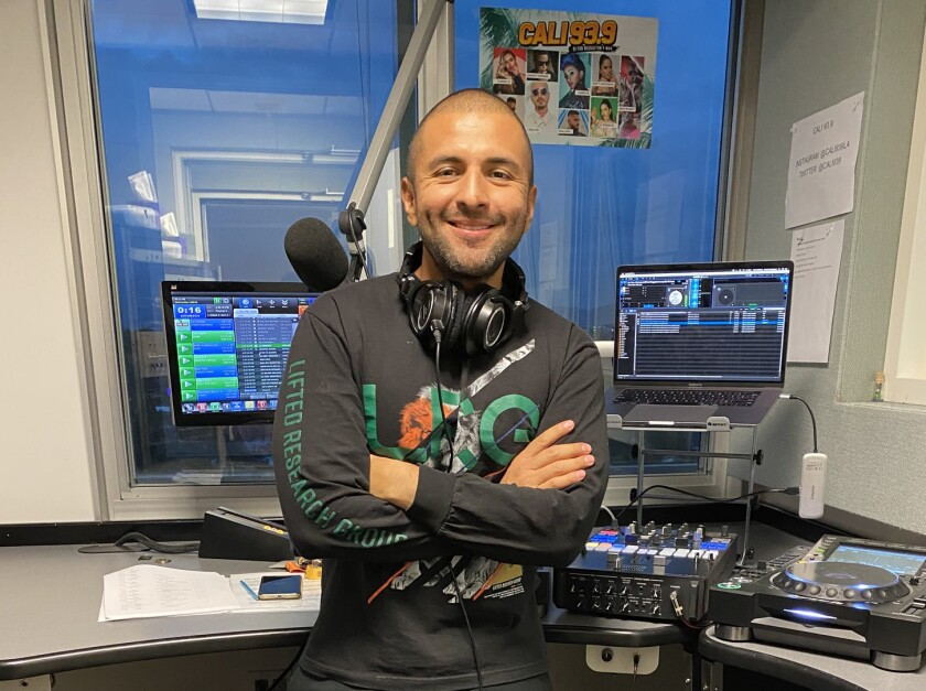 Eddie One, a former on-air personality at Mega 96.3 who jumped to new competitor Cali 93.9