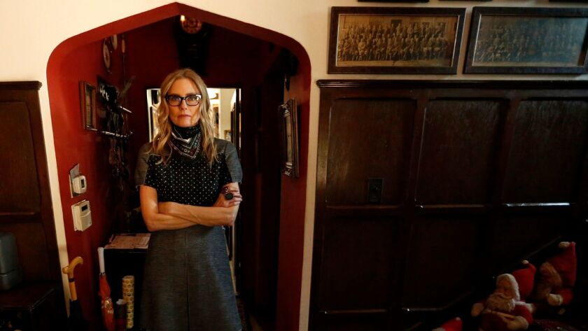 LOS ANGELES, CA - MARCH 1, 2017 -- Los Angeles based singer Aimee Mann's forthcoming album is ent