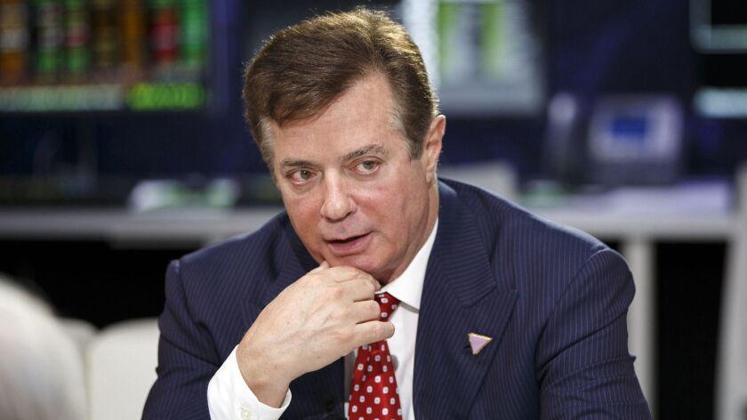 Paul Manafort, Donald Trump's former campaign chairman.