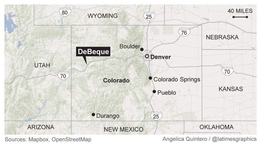 DeBeque, Colorado