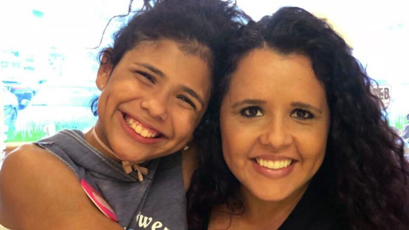 Undated photo of Aileen Pizarro and her daughter Aryana Pizarro. They were killed in a wrong-way crash on Interstate 805 Wednesday.