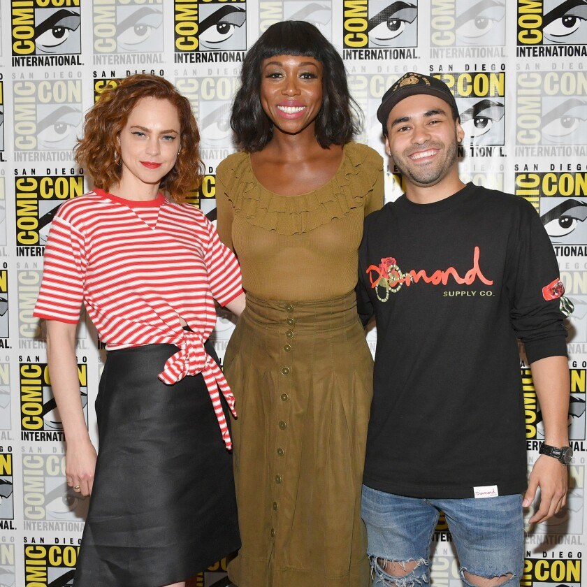"Comic-Con International 2018 - ""The Purge"" Press Line"